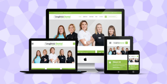 Loughrea Dental Responsive website